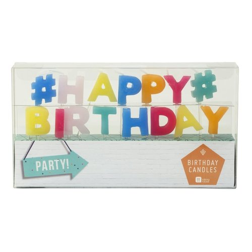 Geburtstagskerzen «Happy Birthday»