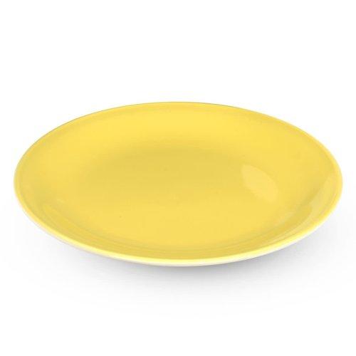 Rössler Porzellan Dessertteller 60s Revival gelb