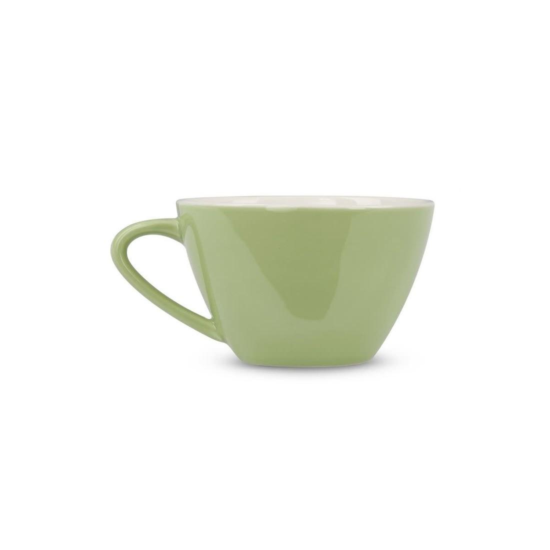 Rössler Porzellan Kaffeetasse 60s Revival mint