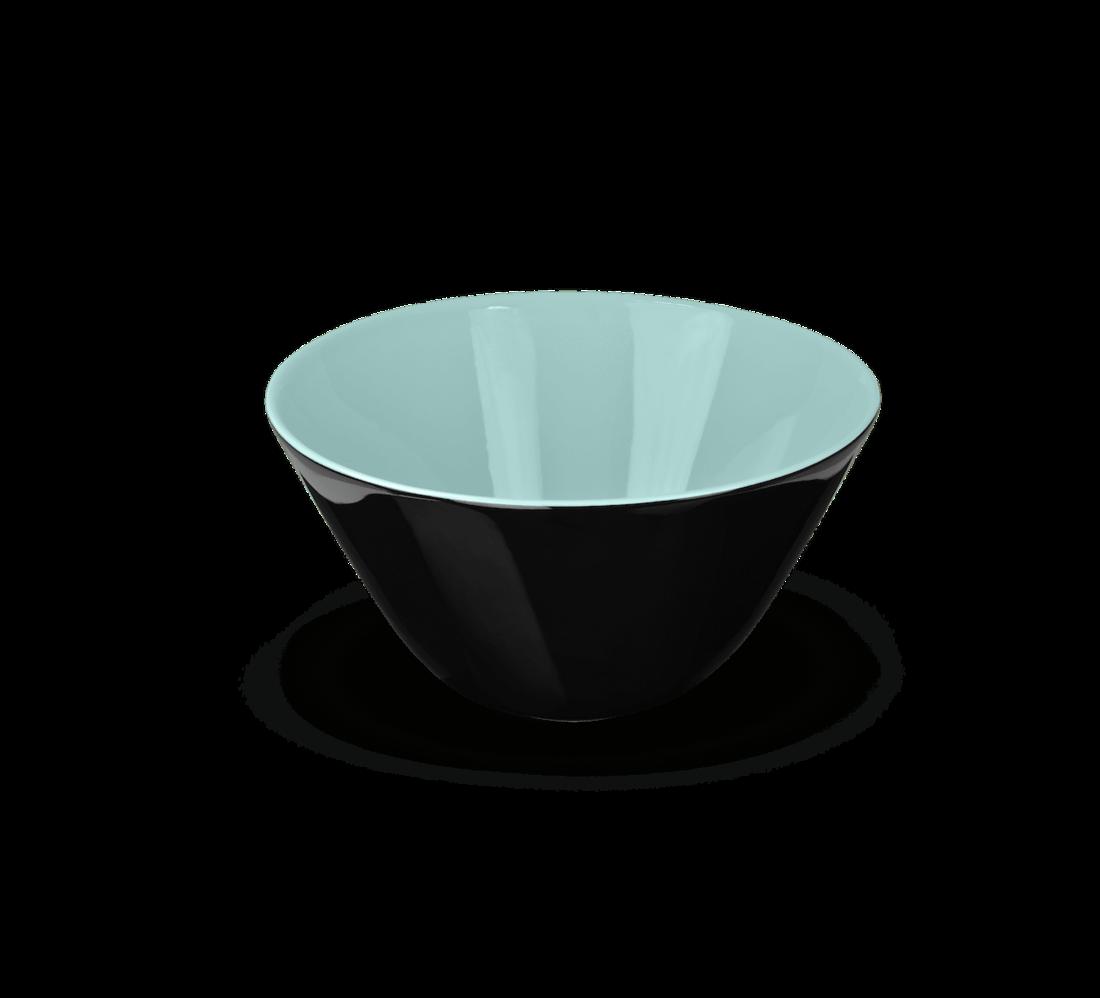 Rössler Porzellan Salatschüssel Revival blau