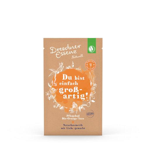 Dresdner Essenz Dresdner Naturell Pflegebad «Du bist einfach grossartig»