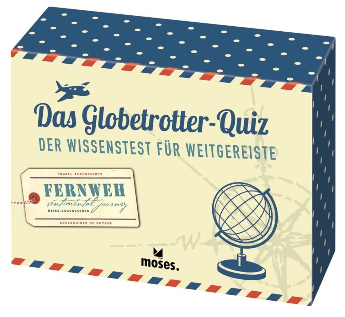 moses Das Globetrotter-Quiz