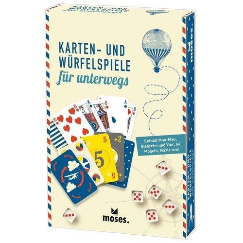 moses Karten- und Würfelspiele FERNWEH