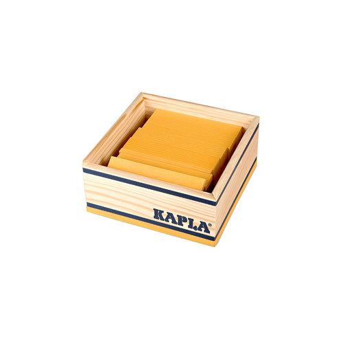 Kapla Kapla 40er Quadrat gelb