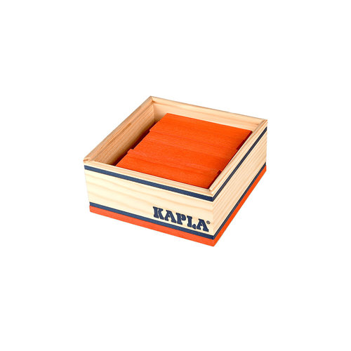 Kapla Kapla 40er Quadrat orange