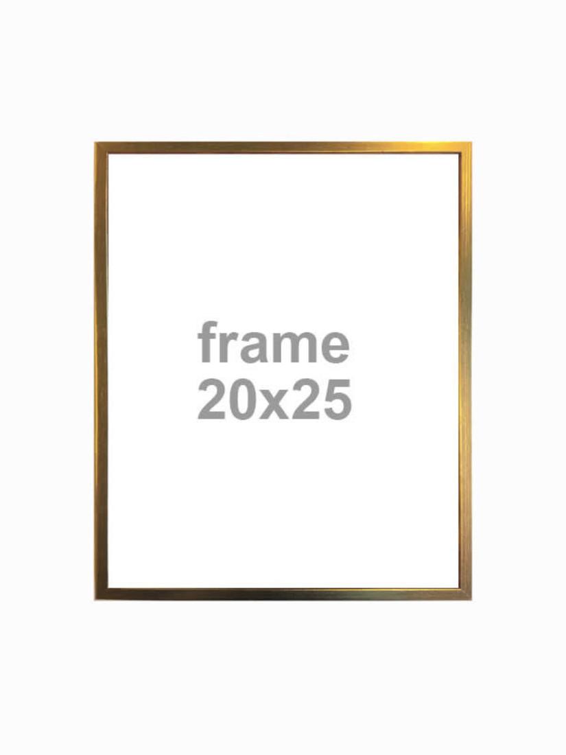 Bilderrahmen gold 20X25
