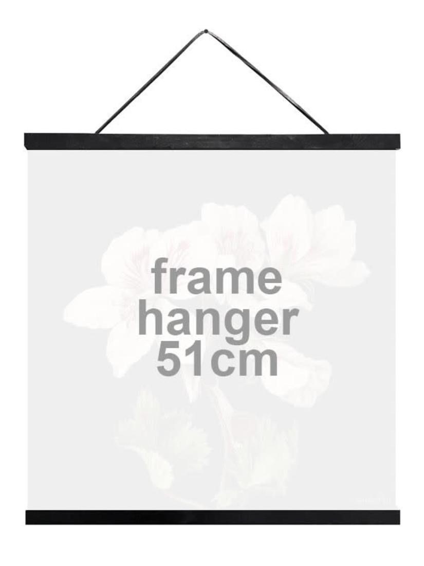 Posterleiste Schwarz