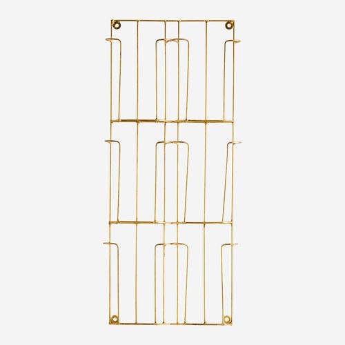 Kartenständer gold 24x55cm
