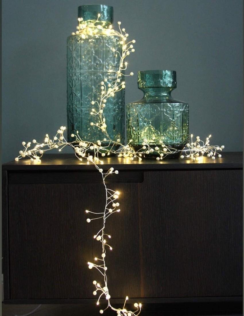 Lichterkette Perlen