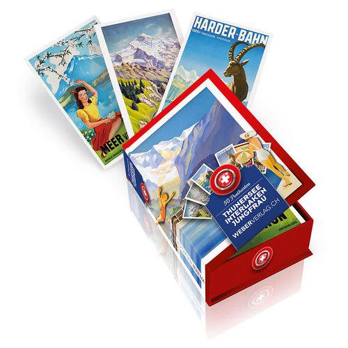Postkarten Thunersee / Interlaken / Jungfrau