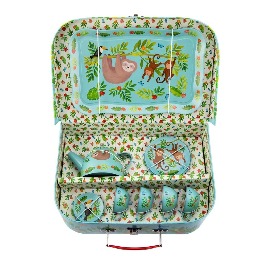 Kinder Koffer Teegeschirrset