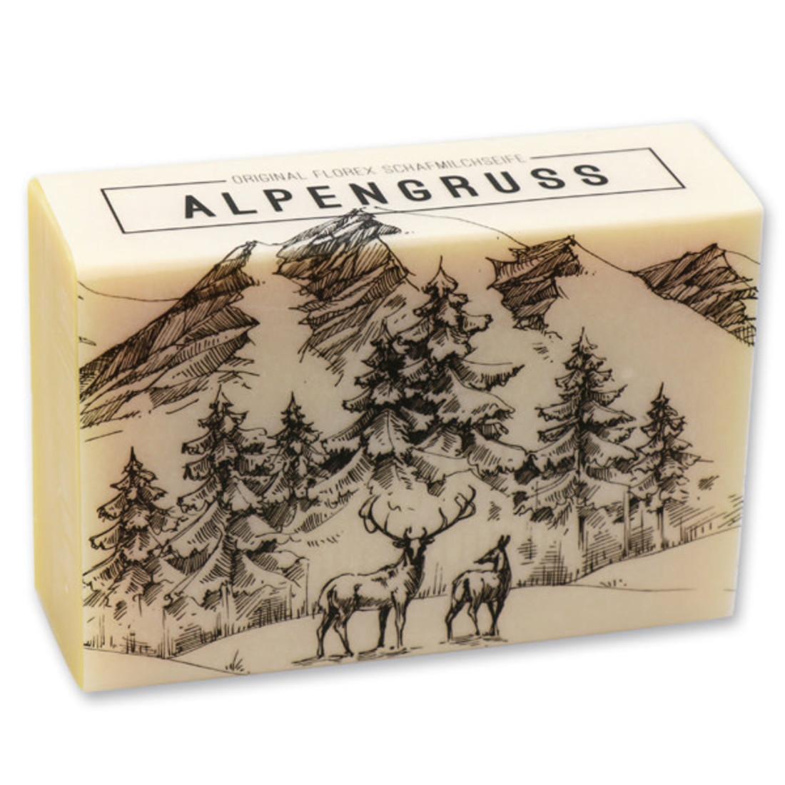 Schafmilchseife Alpenzauber Alpengruss