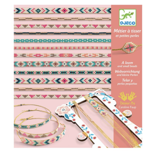 Djeco Perlen Weben Armbänder