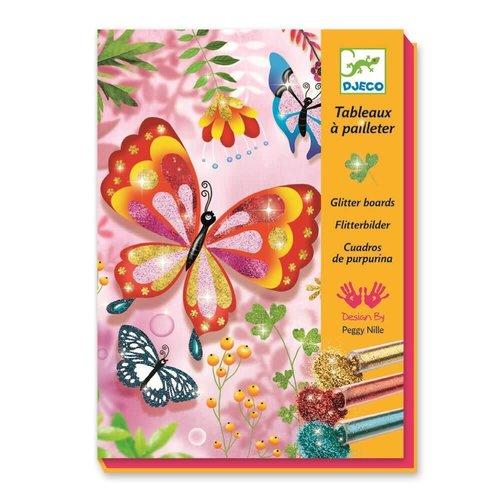 Djeco Flitterbilder Schmetterlinge