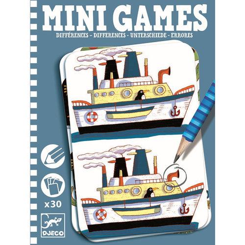 Djeco Mini Games Unterschiede By Remi
