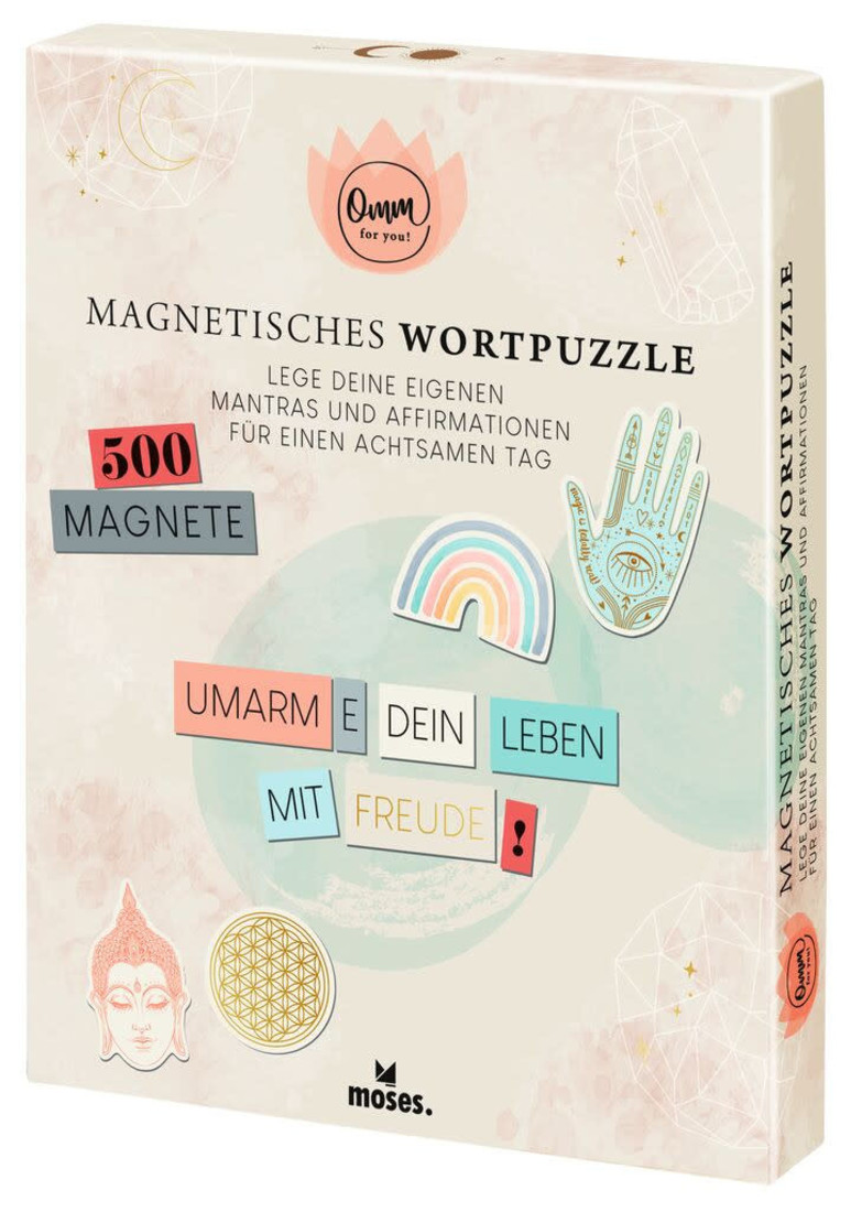 moses Magnetisches Wortpuzzle