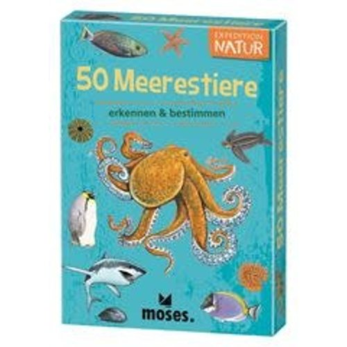 moses 50 Meerestiere Expedition Natur