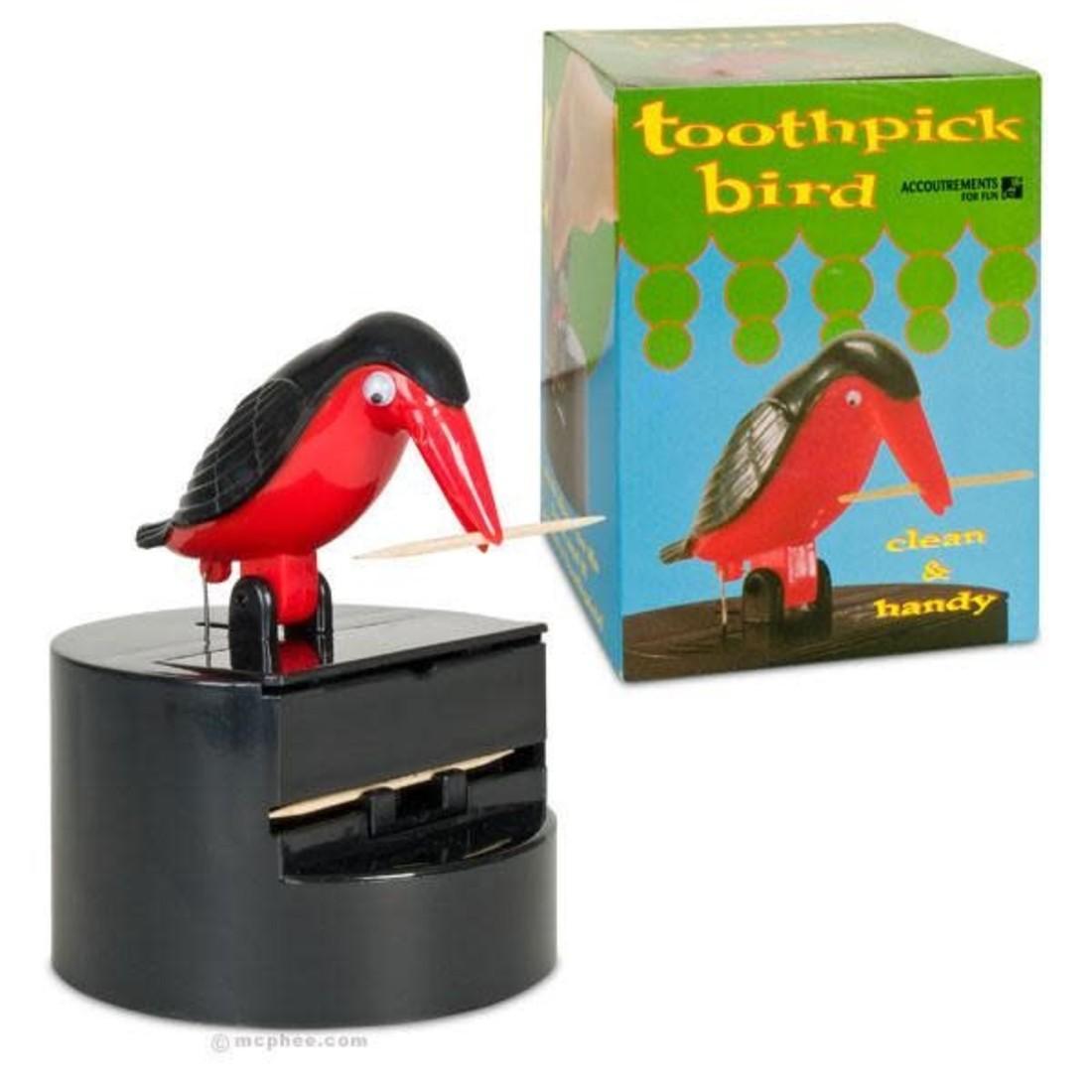 Zahnstocher Vogel