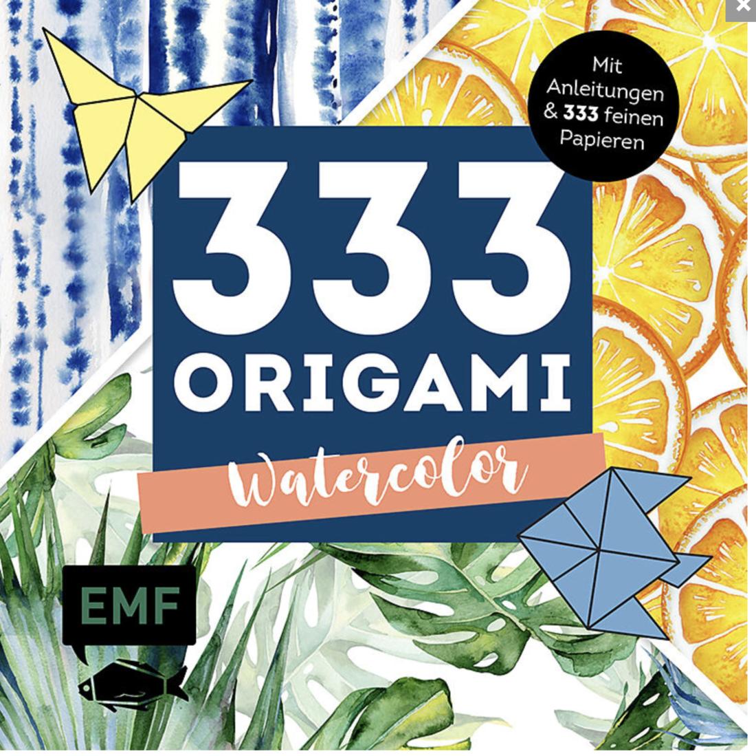 333 Origami  «Watercolor»