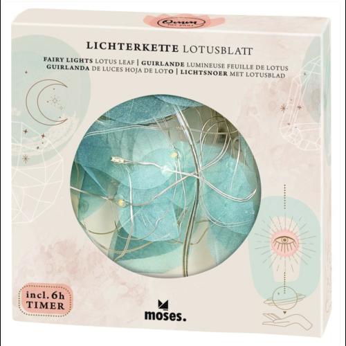 moses Lichterkette Lotusblatt
