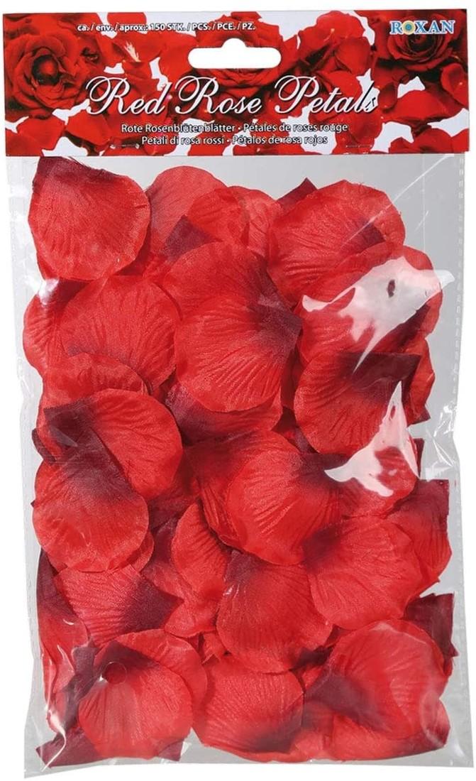 Rosenblätter Rot