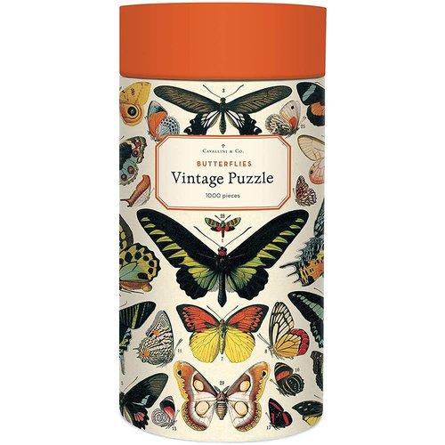 Cavallini Puzzle «Butterflies»
