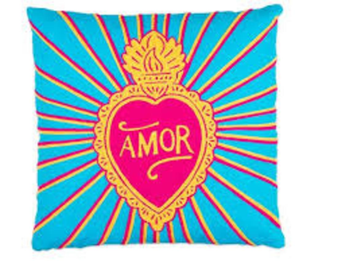 Kitsch Kitchen Kissen  «Love Amor»
