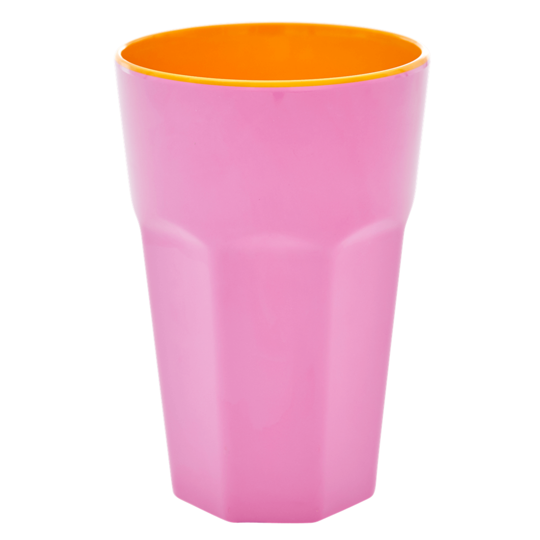 Rice Becher Melamin pink - orange