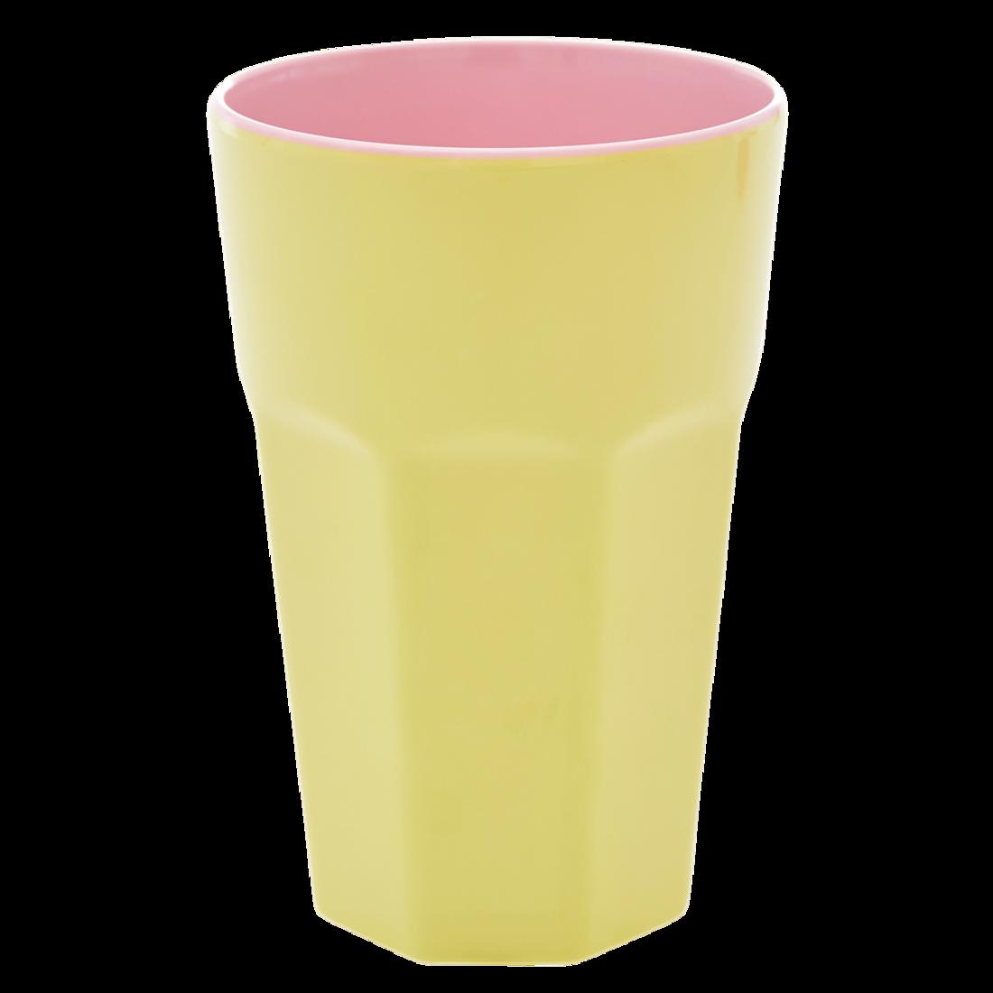 Rice Becher gelb - pink