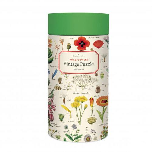 Cavallini Puzzle «Wildblumen»