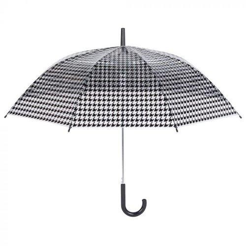 Regenschirm Schwarz-Weiss Gemustert