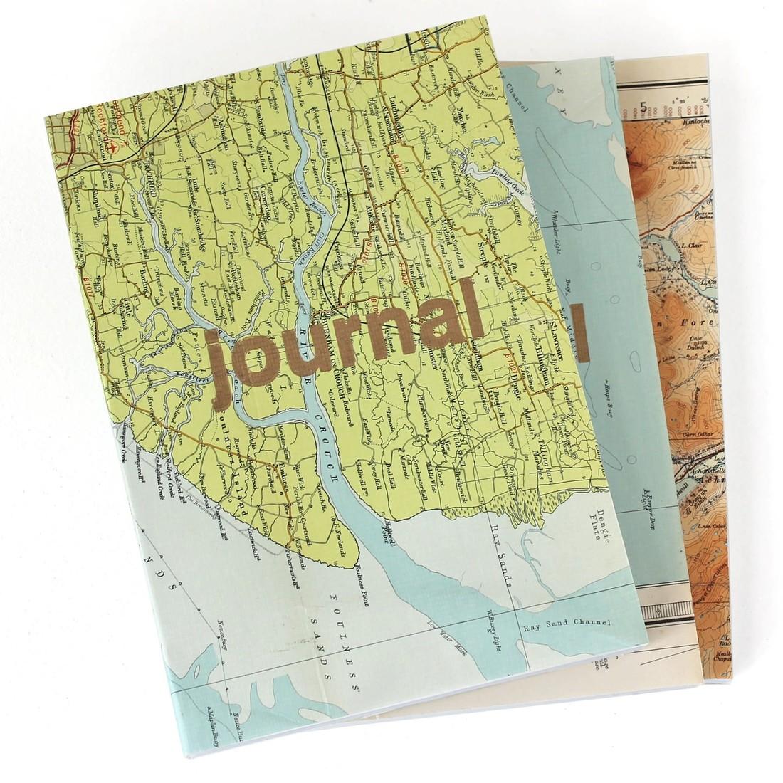 Reisetagebuch «Vintage Map»