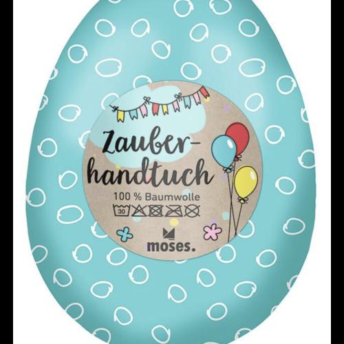 Zauberhandtuch im Ei