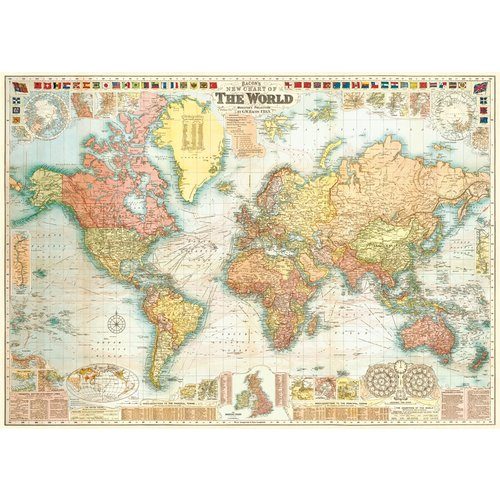 Poster «World Map»