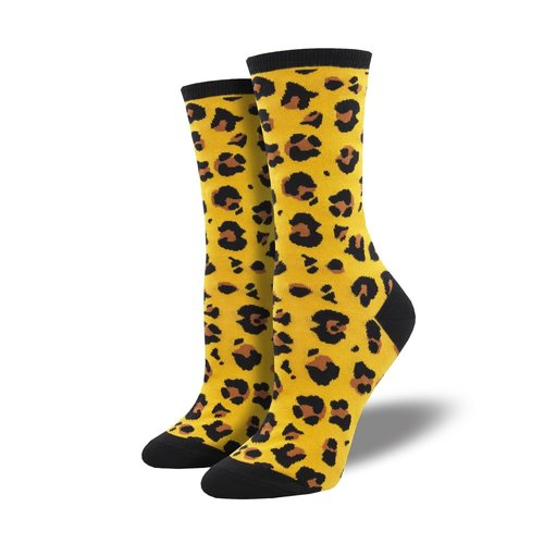 Damensocken «Leopard Print»