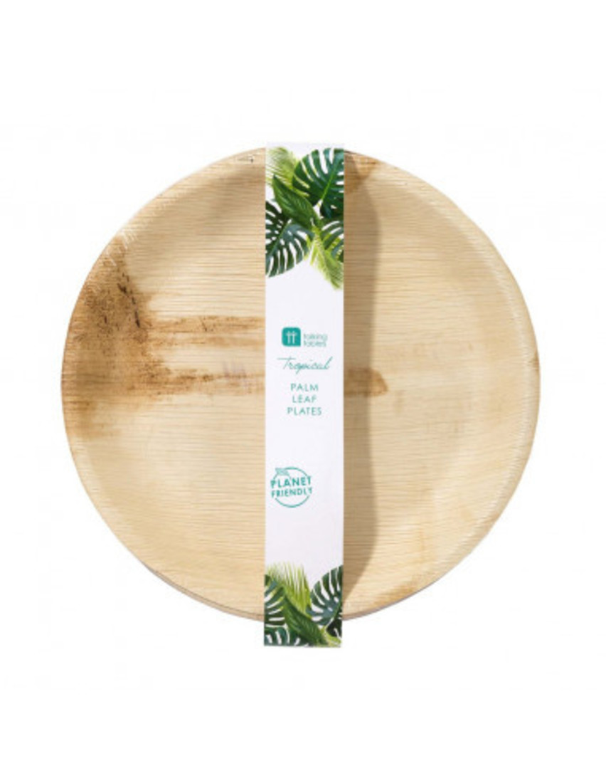 Teller «Palmblätter»