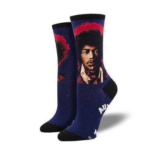 Damensocken «Hendrix Portrait»