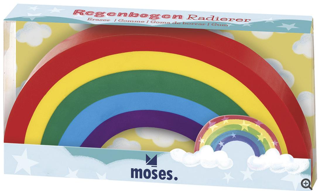 moses Radierer «Regenbogen»