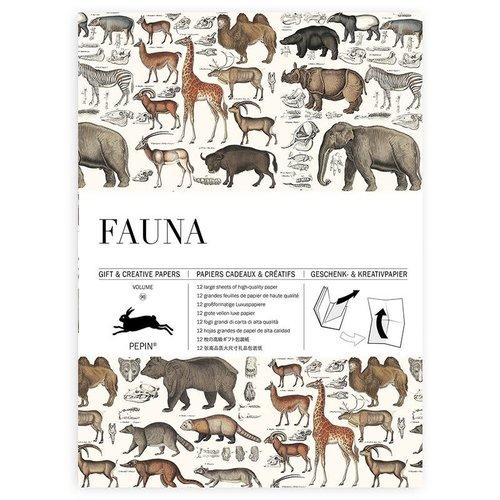 Pepin Geschenkpapier «Fauna»