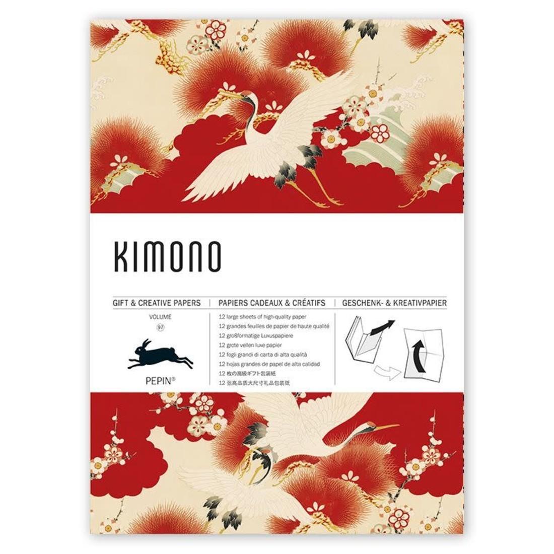 Pepin Geschenkpapier «KIMONO»