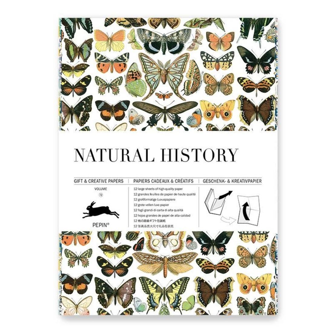 Pepin Geschenkpapier «Natural History»