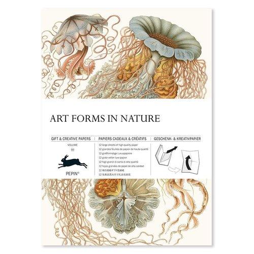 Pepin Geschenkpapier «Art Forms in Nature»