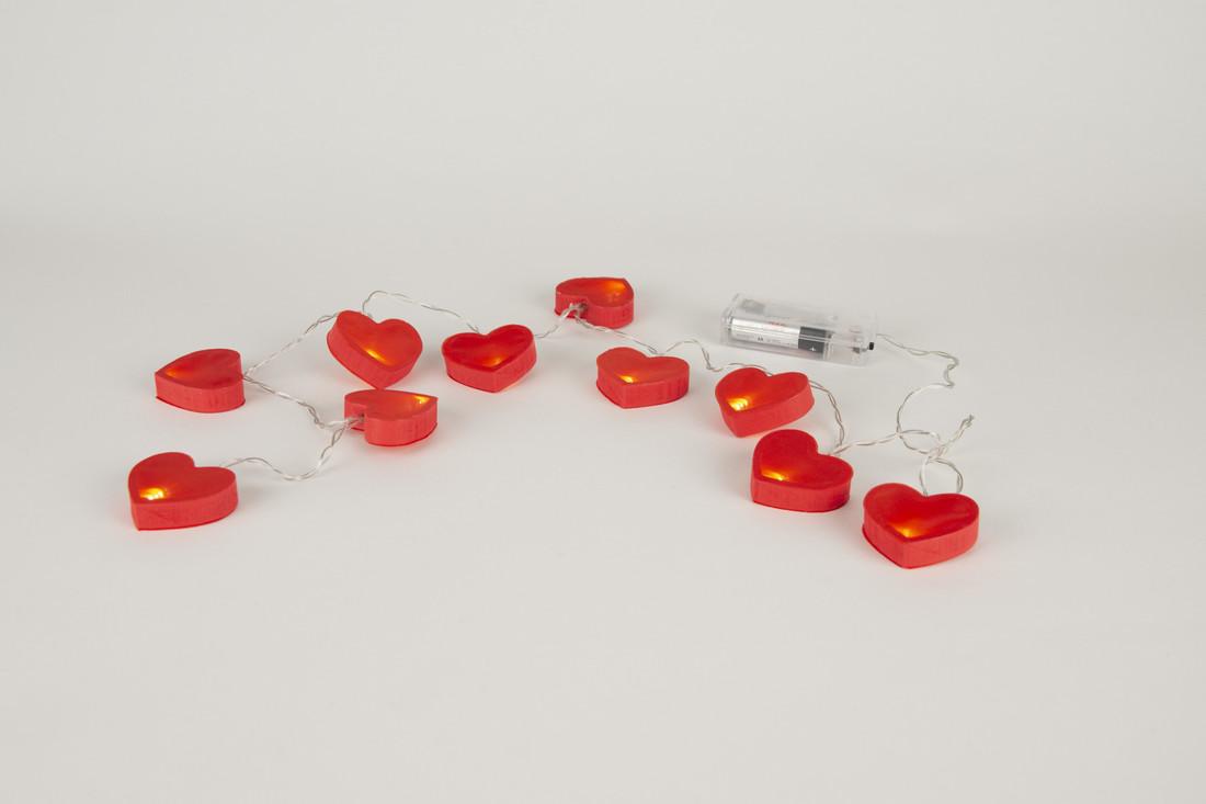 Lichterkette «Herz» LED