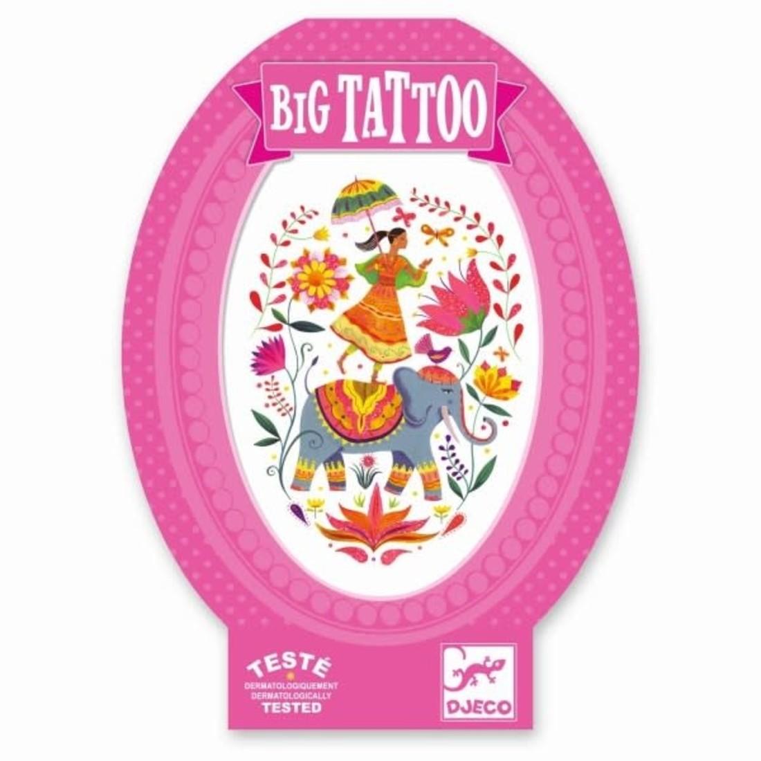 Djeco Tattoos «Indische Rose»