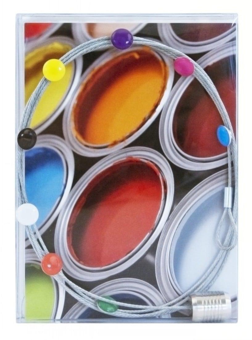 Magnet «farbige Fotoleine»