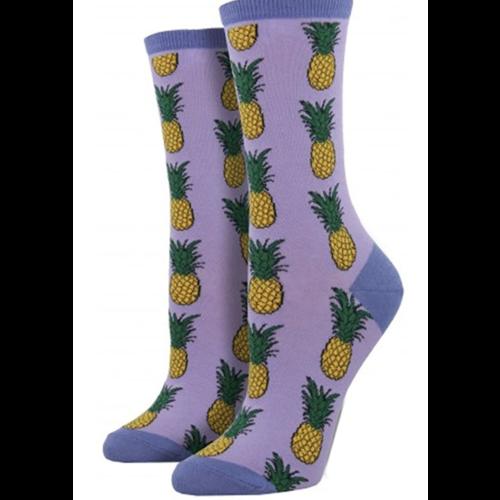 Socksmith Damensocken «Pineapple Lavender»