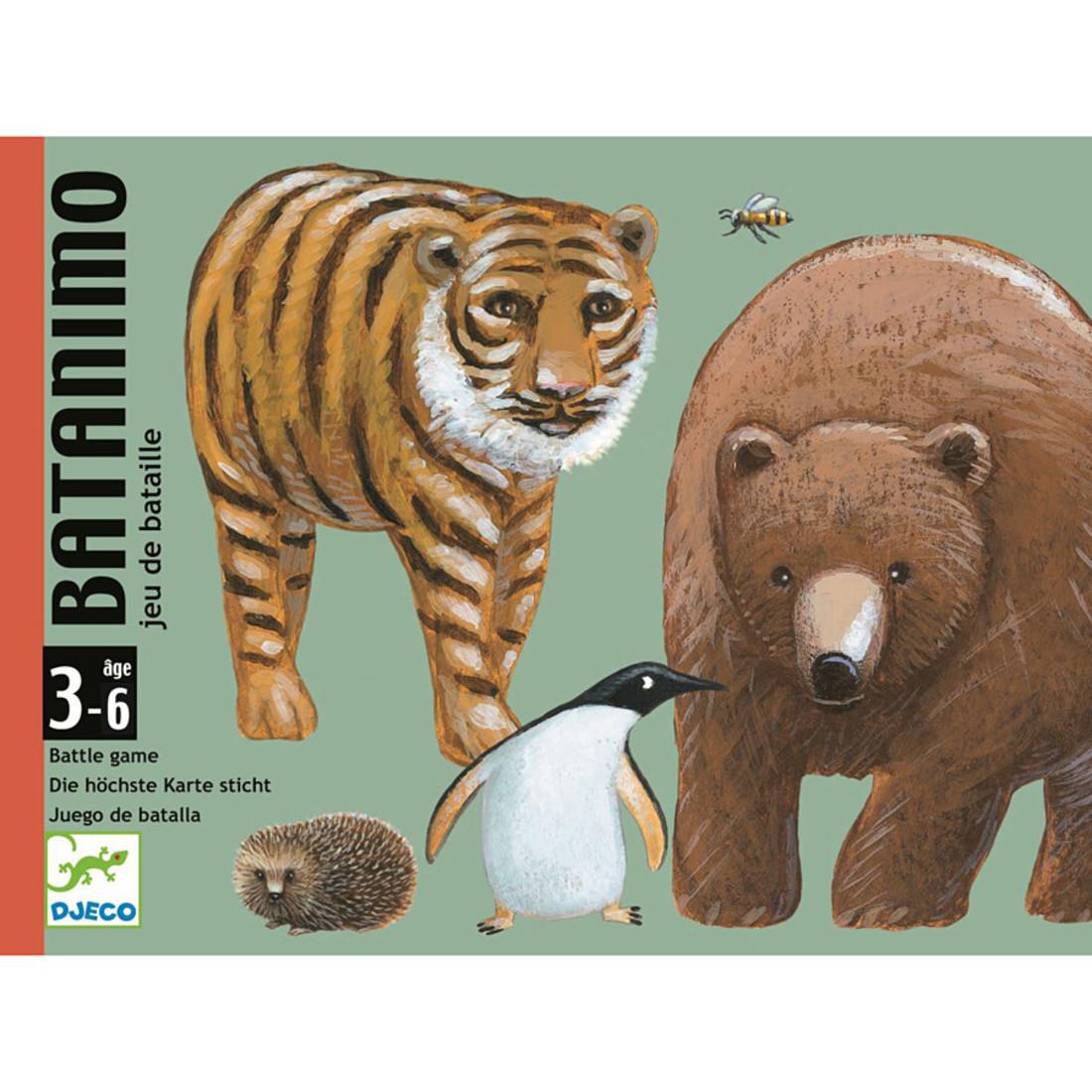 Djeco Kartenspiel «Batanimo»
