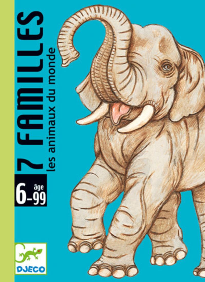 Djeco Kartenspiel «7 familles»