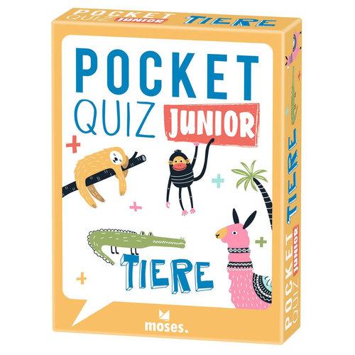 moses Pocket Quiz Junior Tiere