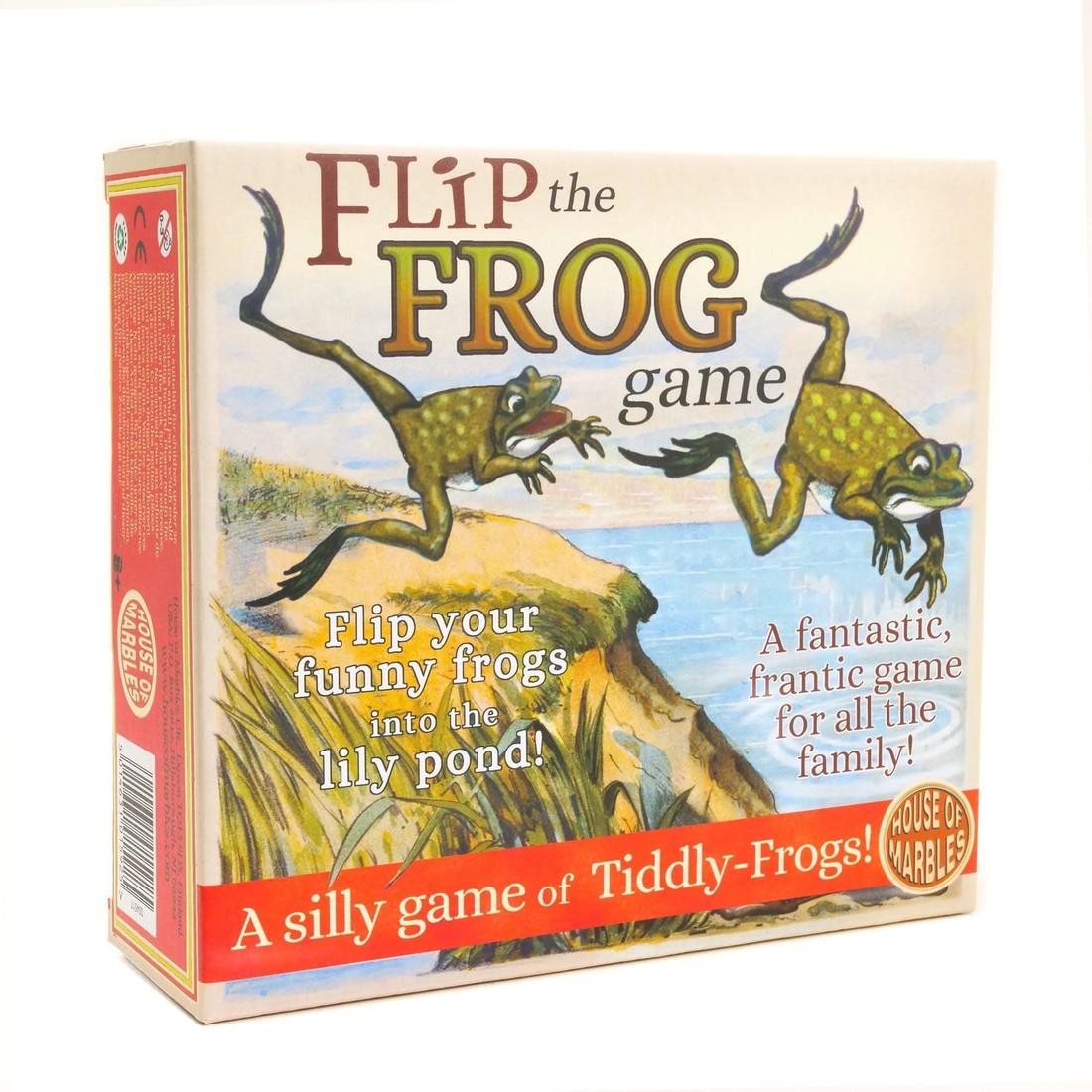 Flip den Frosch
